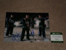 JACK JOHNSON, MIKE CAMMALLERI, ANZE KOPITAR SIGNED AUTOGRAPHED 8X10 PHOTO SGC