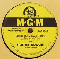 78 ARTHUR GUITAR BOOGIE SMITH CRACKER JACKS GUITAR BOOGIE BOOMERANG M-G-M 10293