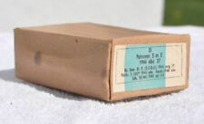 1943-44 Germany German WWII Era Mauser K98 Rifle Empty Ammo Cartridge Shell Box