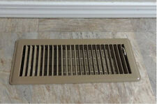 6x Metal Floor Vent Floor Cover Grille Grill Ducted Heating 300 X100mm  Registers