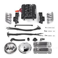 V8 Simulate F82 Engine Motor Cooling Fan für TRX4 SCX10 RC4WD D90 Crawler Auto#