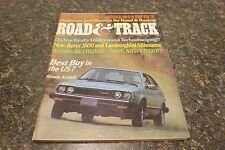 ROAD & TRACK BEST BUY IN THE US? HONDA ACCORD AUGUST 1976 VOL.27 #12 9248-1