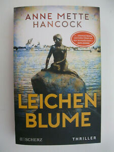 TB Buch Leichenblume Anne Mette Hancock Thriller Krimi Kriminalroman