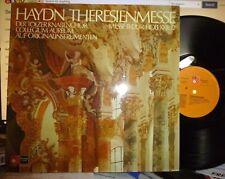 HAYDN Theresienmesse, COLLEGIUM AUREUM, Original Instruments LP NM/NM GTFLD