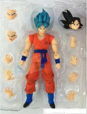 S.H.Figuarts Dragon Ball Z Son Goku Blue hair 16cm Figura de acción de juguete