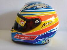 Fernando Alonso   1:2 Helmet Casque Casco  2011 F1 Ferrari