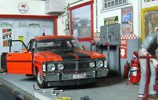 Very rare 1971 TRAX XY Ford Falcon GTHO 1/24 + Bin offer