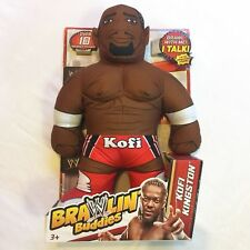 "2012 NEW WWE MATTEL ""KOFI KINGSTON - BRAWLIN' BUDDIES"" WRESTLING [MIB]"