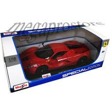 Maisto Ferrari LaFerrari F70 1:18 Diecast Car Red with Black Color Wheels