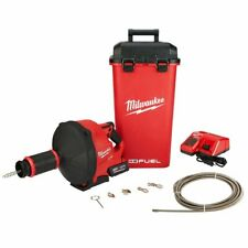 Milwaukee 2772B-21XC 18-Volt Multi-Cable Cordless Drain Snake Kit