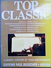 Partition Top Classic 1, Paul Beuscher ORGUE GUITARE ET TOUS INSTRUMENTS