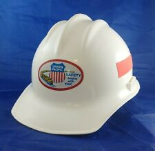 Union Pacific Railroad Hard Hat Helmet White Bullard Usa Size 6 12 To 8
