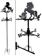 Floor standing and wall mounted Weathervanes Steel Horse Weathervane