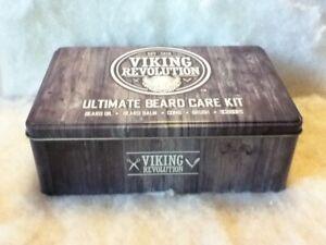 Viking Revolution Beard Care Kit for Men Ultimate Beard Grooming Kit