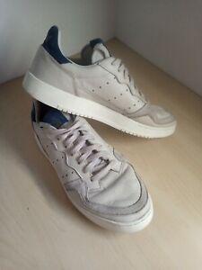 Mens Adidas Supercourt Leather Trainers UK 9.5 EU 44