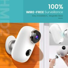 HeimVision HMD2 Wireless Rechargeable Battery-Powered Security Camera, 1080P Vid