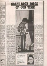 PINK FLOYD Syd Barrett guitar solo  UK ARTICLE / clipping