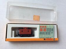 Vintage ARNOLD N SCALE MODEL TRAIN RED CARGO 5479 W/ BOX GERMANY