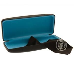 """Manchester City FC Glasses Sunglasses Case 6¼"""" x 2½"""" Official Merchandise"""