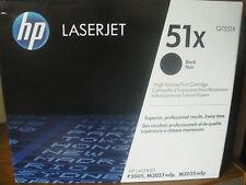 Toner laser HP Q7551X  NEUF d 'origine pour laser jet P3005,M3027,M3035