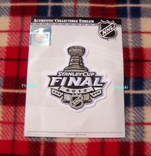 Official 2012 Stanley Cup Final Finals Patch Los Angeles Kings New Jersey Devils