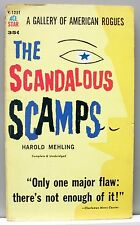 THE SCANDALOUS SCAMPS by Harold Mehling vintage pb 1960 gc (Ace K-125T)