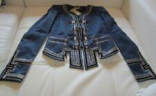 ROBERTO CAVALLI Hand Made Giacca Runway collector's item Jacket DIVISE alamari