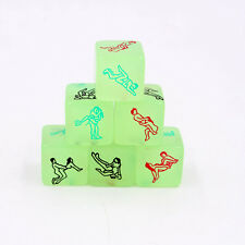 Luminous Sex Game Dice Glow in the Dark Couple Bedroom Saucy Adult Aid Toys 1pcs