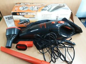BLACK+DECKER Dustbuster Black Car Vacuum Cleaner No Flexi Pipe But Fully Working