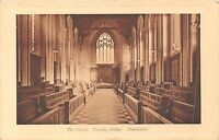 POSTCARD   GLOUCESTERSHIRE  CHELTENHAM  The  Chapel  Training  College