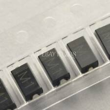 100PCS 1N4001 IN4001 M1 1A/50V SMA DO-214AC SMD Rectifier Diode