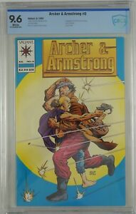 Archer and Armstrong #0 CBCS 9.6 1st appearance -Barry Windsor-Smith white pages