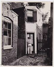 A. AUBREY BODINE: Painter * Rare VINTAGE Classic 1935 silver fine art photo