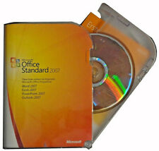 MS Office STANDARD 2007 BOX✔Doppellizenz✔CD/DVD✔Word✔Excel✔PowerPoint✔Qutlook✔DE