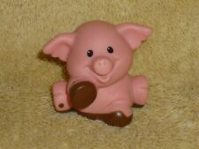 Fisher Price Little People Farm Pink Muddy Mud Pig #1 Spots