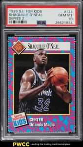 1993 Sports Illustrated For Kids Series 2 Shaquille O'Neal #131 PSA 10 GEM MINT