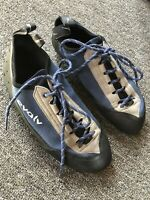 Evolv VTR 3D Rock Climbing Shoes Mens Size 11 Lace Up Eco Trax Bouldering