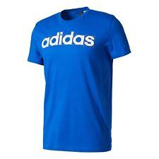Camisetas de hombre de manga corta adidas color principal azul