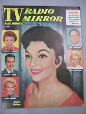 TV RADIO MIRROR FEBRUARY 1956 MARION MARLOWE PETER PAN BETTY WRAGGE RUSSELL ARMS