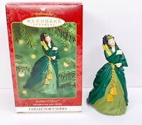 2000 Hallmark Keepsake Scarlett O'Hara Gone With the Wind #4 Green Drapes Dress