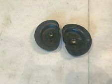 63-72 Chevy GMC C10 Truck Rear Coil Spring Retainer Plate Pair Hot Rod Used