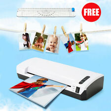 A4 220V Paper Photo Laminator Roller Thermal Hot/Cold Laminating Machine Trimmer