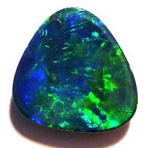 Natural Australian Opal Freeform Doublet Gem Grade 14x13mm (2613)