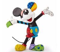 Romero Britto Disney Mickey Mouse Miniature Pop Art Figurine 4049372 New Mini