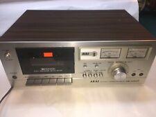 Vintage Akai CS-702D II Stereo Tape Deck Cassette Player/Recorder