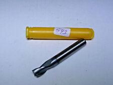 Langlochfräser DIN 8027 hartmetallbestükt K10 2 Schneiden zyl Schaft