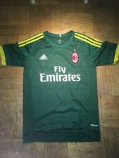 Adidas AC Milan Soccer Jersey Alt Color Green Mens Small