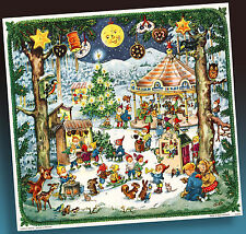 Vecchio Calendario Avvento Kurt Brandes > Korsch Inutilizzato 70er > Vergriffene
