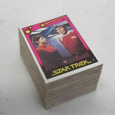 1982 Star Trek Ii Monty Trading Card Set 100 cards w Wrapper-Original Brown Back