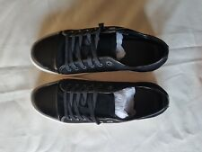 Lanvin Black Trainers, Size 9, Black Suede / Leather lining, BRAND NEW